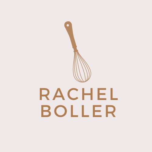 Rachel BollerFoodCopywriterLogo